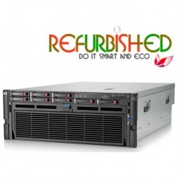 DL580 G7 RACK 4U SIX-CORE X7542@18MB 32GB P410@512MB PSU 4X1200W REFURBISHED GAR@12MESI NO STAFFE